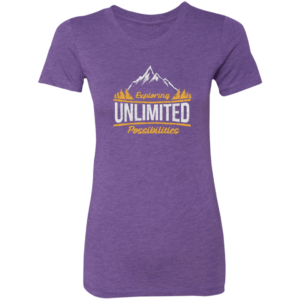 Women's Unlimited Possibilities Soft T Shirt Supernatural Self Exclusive